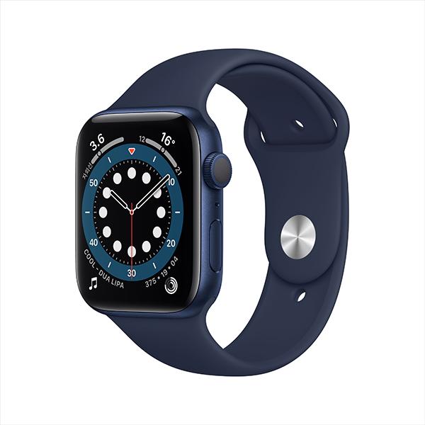 [apple]애플워치 시리즈 6 GPS, 44mm 블루 알루미늄 케이스