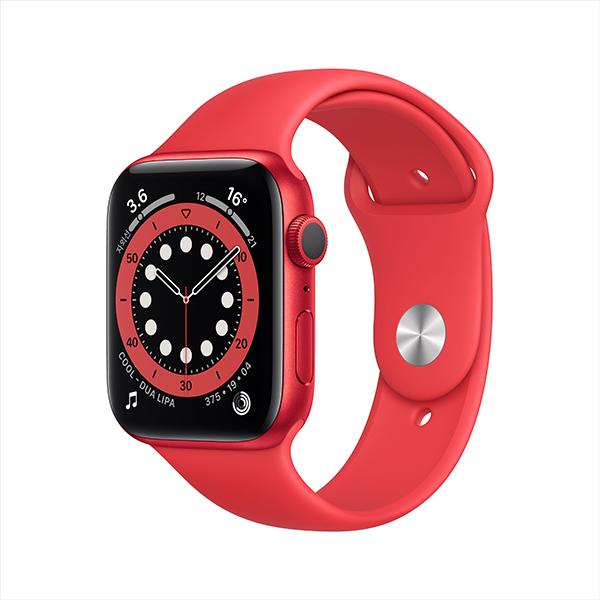 [apple]애플워치 시리즈 6 GPS, 44mm PRODUCT(RED) 알루미늄 케이스