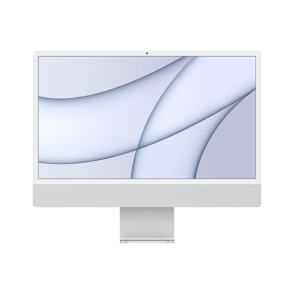 [Apple]아이맥 24형 M1칩 2021년형 실버(M1/8C CPU/8C GPU/8GB/512GB)-MGPD3KH/A☞6월 중순이후 순차출고
