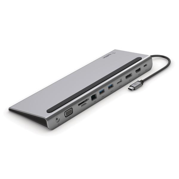 [BELKIN] 벨킨11-in-1 멀티포트 USB-C 도크(PC 및 Mac 용) INC004btSGY