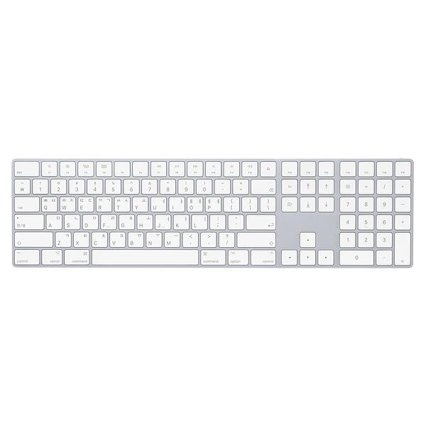 [Apple] 매직 뉴메릭 키보드 실버 - MQ052KH/A