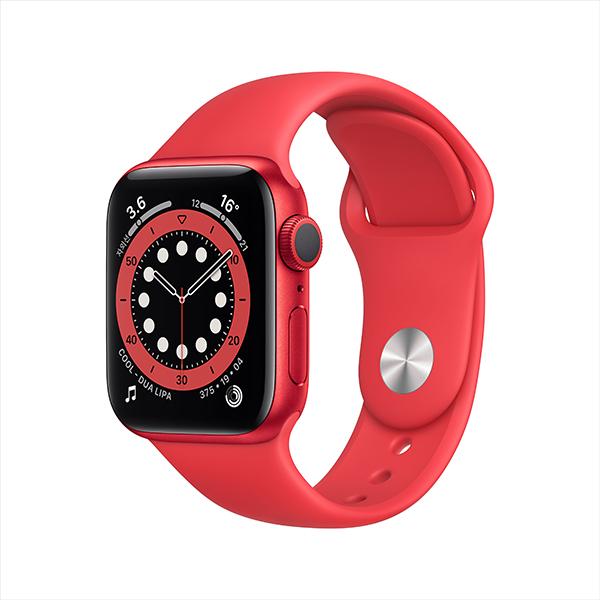 [Apple]애플워치 시리즈 6 GPS, 40mm PRODUCT(RED) 알루미늄 케이스