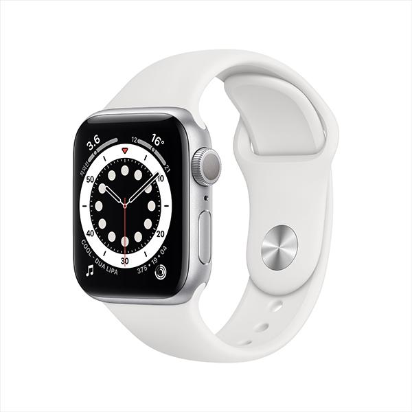 [Apple]애플워치 시리즈 6 GPS, 40mm 실버 알루미늄 케이스