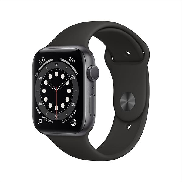 [Apple]애플워치 시리즈 6 GPS, 44mm 스페이스 그레이 알루미늄 케이스
